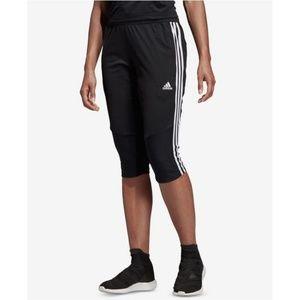 adidas climacool running capri soccer shorts pant
